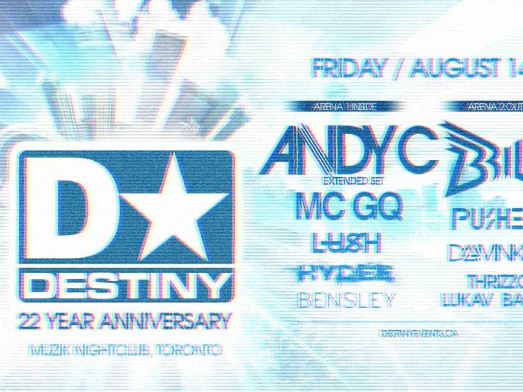 Destiny Events Anniversary